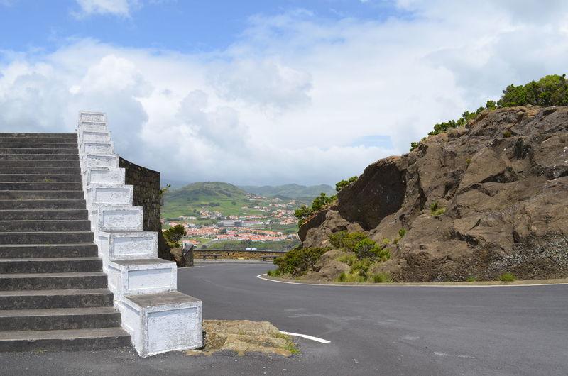 Azores Açores Faial Faial Island Horta Porto Pim View Of Horta