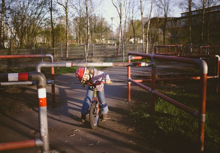 When people think you are small, you can do the unexpected - MAinLoveWithFreedom watching Little Girl Crossing Borders Differently Having Fun Enjoying Life Cycling Bycicle Children Photography - 19.04.2015