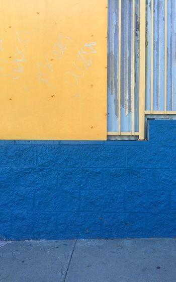 Los Angeles, California Wall Building Losangeles Still Life Colors Blue Wall