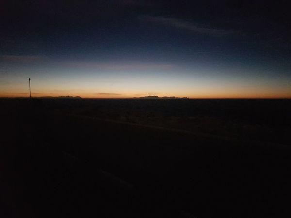 #horizon #Dark Dusk Nature Sky Beauty In Nature Night Landscape Tranquil Scene Astronomy