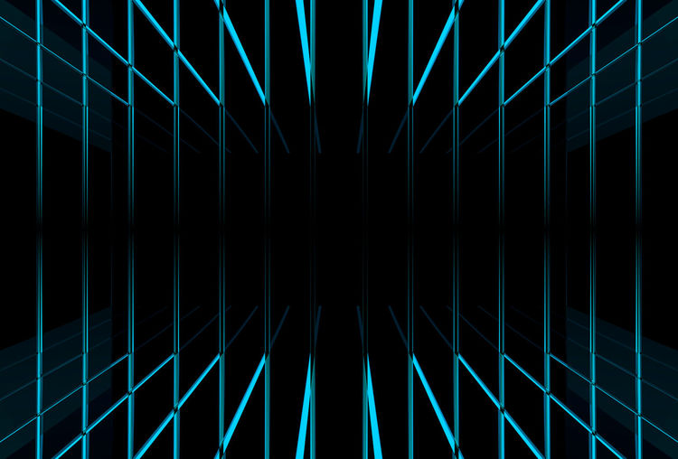 blue light beam line background Dark Futuristic Graphic Light Shape Abstract Art Beam Black Background Blue Design Full Frame Glowing Illuminated Illusion Modern Night Pattern Repeat Simple Space Technology Texture