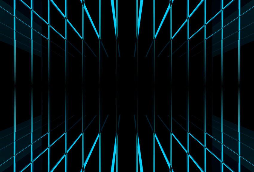 blue light beam line background Dark Futuristic Graphic Light Shape Abstract Art Beam Black Background Blue Design Full Frame Glowing Illuminated Illusion Modern Night Pattern Repeat Simple Space Technology Texture