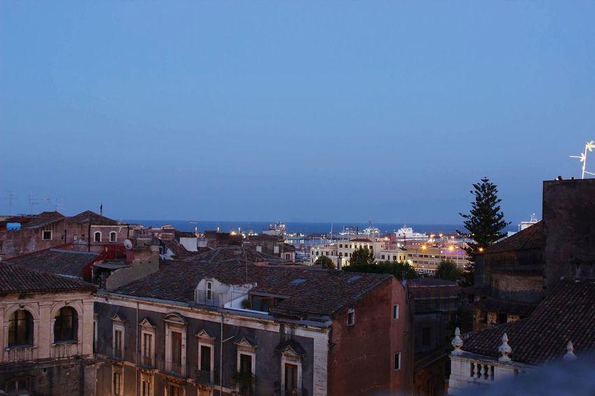 Urban Landscape Loveit Colorful City Catania Sicily Siciliabedda Sea And Sky Phrobisantos EyeEm