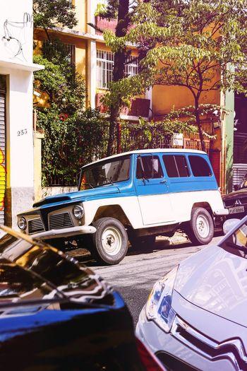 Urban Spring Fever A classic Rural Willys in São Paulo SUV Car Classic Car Classic Showcase April