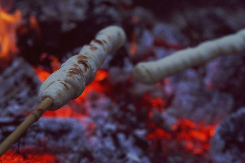 Campfire stick