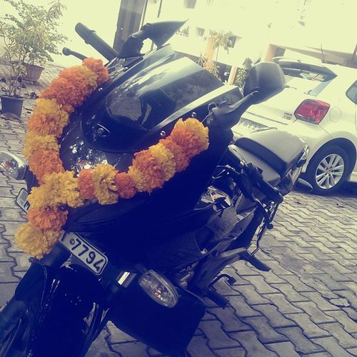 Happy dasera to my Bike-O !! Dasera Cultural Pune Puneinstagrammers
