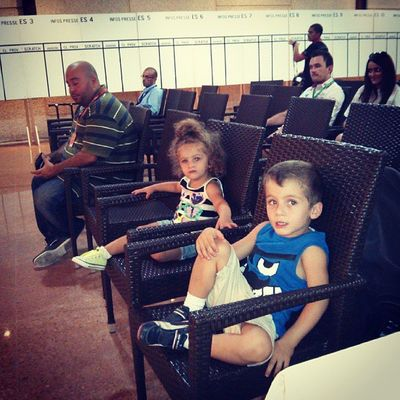 @abdofeghali 's children watching his press conference ahead RallyOfLebanon