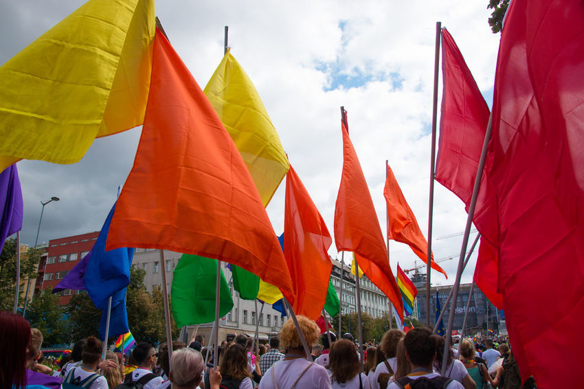LGBT Rainbows LGBT Parade Prague Gay Homosexuel Lgbt Lgbt Pride Miting Parade People Pride Pride Parade 2017 Prideparade