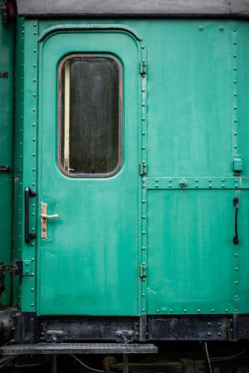 Full frame shot of train