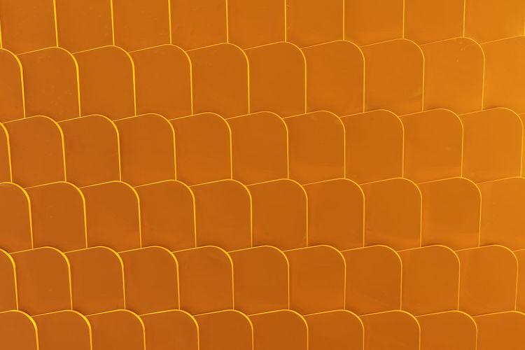 Golden geometrical honeycomb like pattern Golden Horizontal LINE Orange Shape Shapes Sunlight Backgrounds Close-up Day Edges Frame Full Frame Geometrical Patterns Honeycomb Like In A Row Pattern Repetition Repetitive Rounded Corner Row Sharp Tile