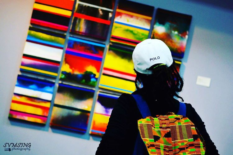 Real People One Person Lifestyles Men Indoors  Day People Polo ArtWork Painting 876EyeEm 876