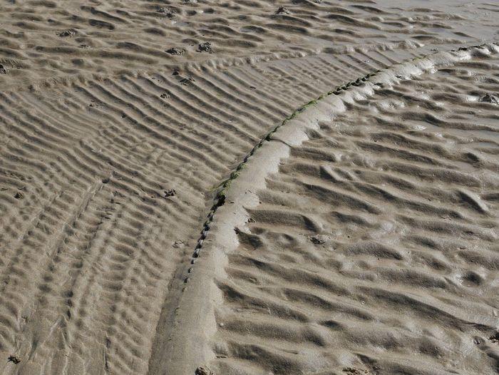 Sand St Ives Beach Chain Patern Sand Pattern