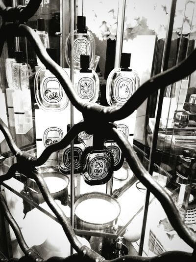 Close-up Parfume Bottle Shop Window Rome, Italy Eyem Gallery Light & Dark Eyemphotography Parfumerie