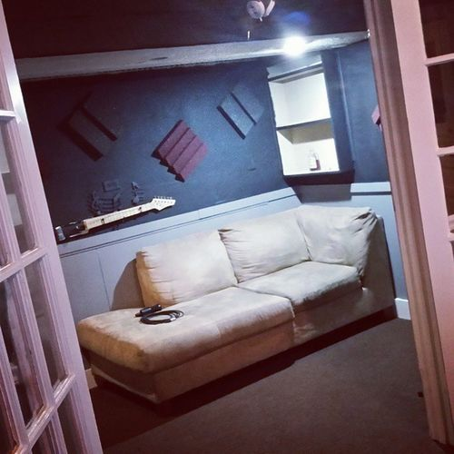 New vocal booth finished Studio LiveItBrands