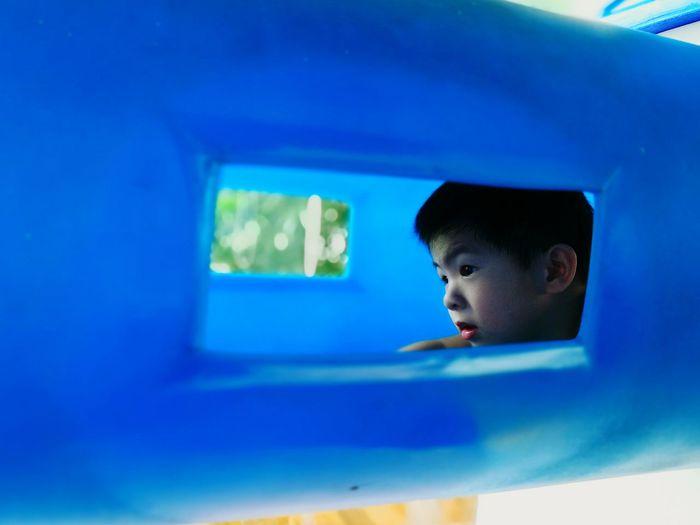 Window Boy Kids