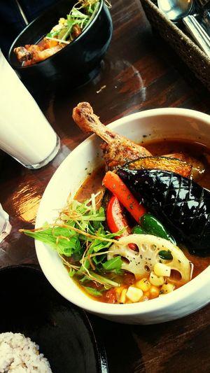 カレー Curry 昼ごはん Lunch