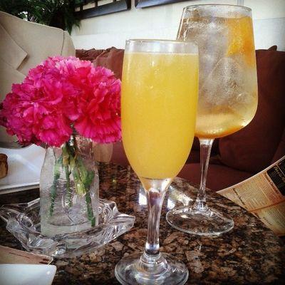 Asi si me gustan los lunes♥ Tragoscoquetos Mimosa Sangria Lunespalquepuede perfectmonday
