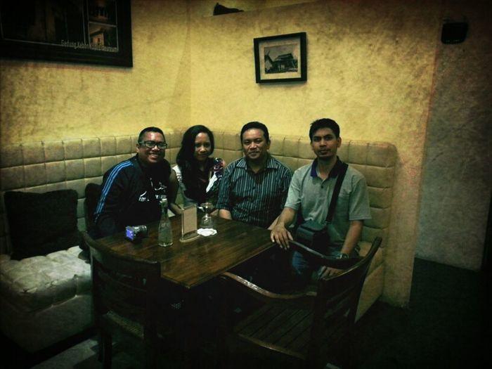 Good friends in Bandung. Hatur nuhun.