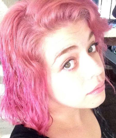 My pinkish past... Pink Selfie Hair Girl