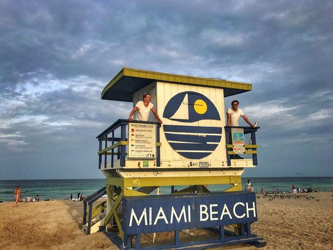 Sea Beach Water Sky Outdoors Sand Miami
