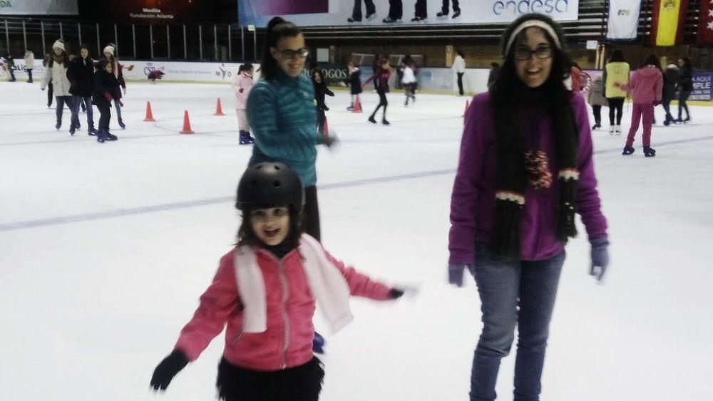 Fun on ice Ice Ice-skating Ice Skate