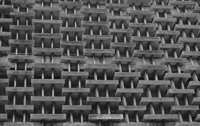 A capture of one of Bangkok's urban architecture. Architectural Feature Architecture Architecture And Art Complexity Concrete Design Geometric Shape Outdoors Pattern