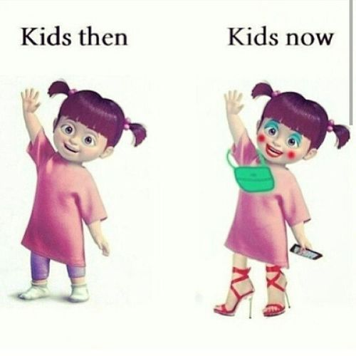 What happened?! Kids Kidsthen Kidsnow Whathappened generations disappointing
