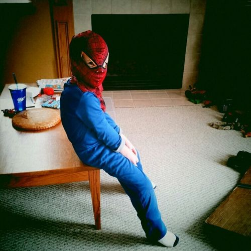 Even Super Hero's need a rest! Color Portrait Kids Being Kids Portrait Eye4photography  Super Heroes  Super Hero Superheroes Kids At Play Children Playing Children Family Kids Having Fun Having Fun Spiderman Childhood Memories Childhood Kids Boy Child Children Photography Son Colors Color Superhero EyeEm Gallery