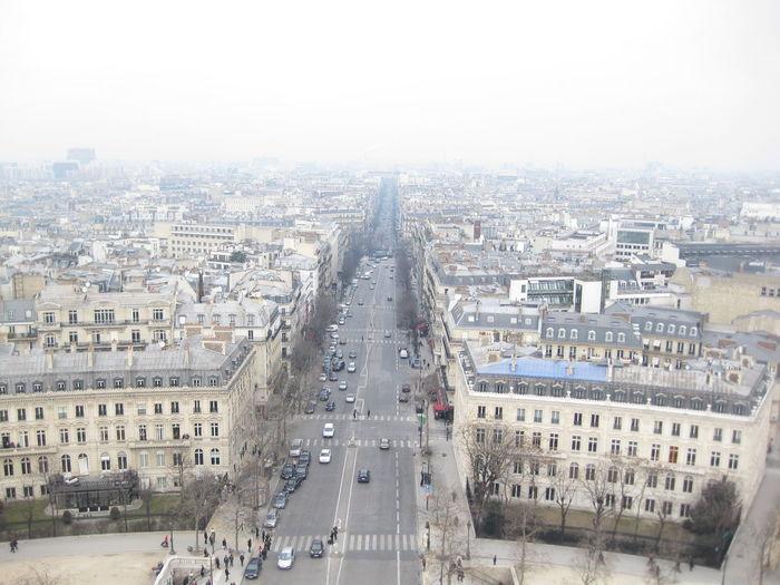 Arc De Triomphe Building Building Exterior City Cityscape Day Outdoors Overcast Paris