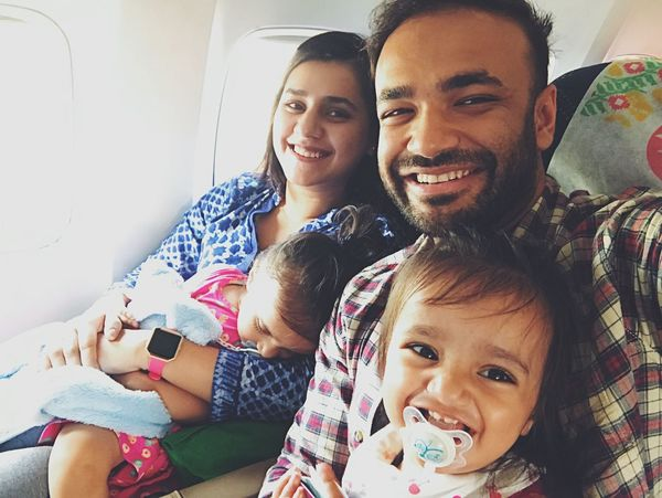Traveling Home For The Holidays Bonding Travelling Family Wife And Kids Babies Twins Daughters Real People Young Women Cute Selfies Happy Togetherness Child Cheerful Smiling Happiness Airplane This Is Family