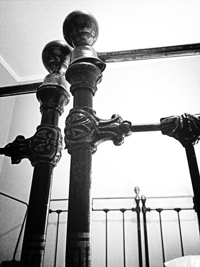 Old bed posts. Blackandwhite Bw_collection