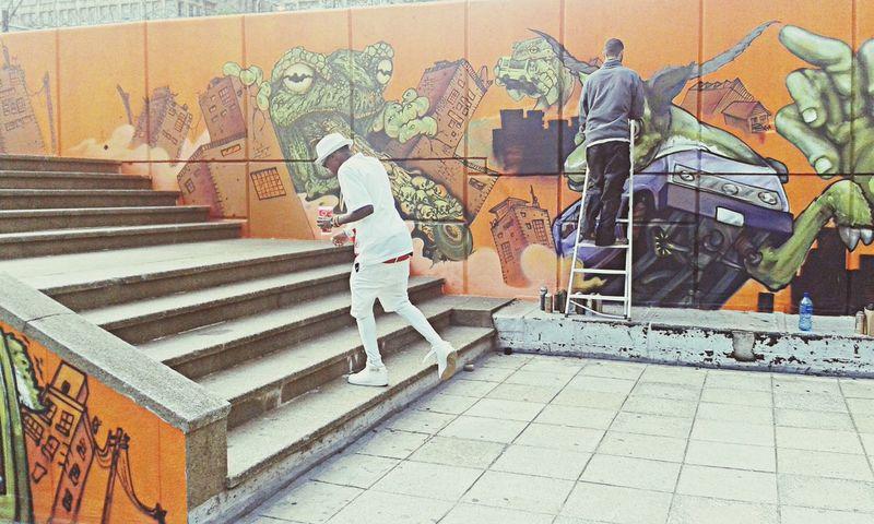 Some Dope Graffiti ALL WHITE EVERYTHING Graffiti Swag Street Fashion