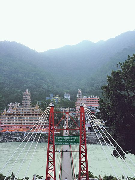 LaxmanJhula Relaxing Vacation India History Heritage Check This Out Travel Travel Photography Photography