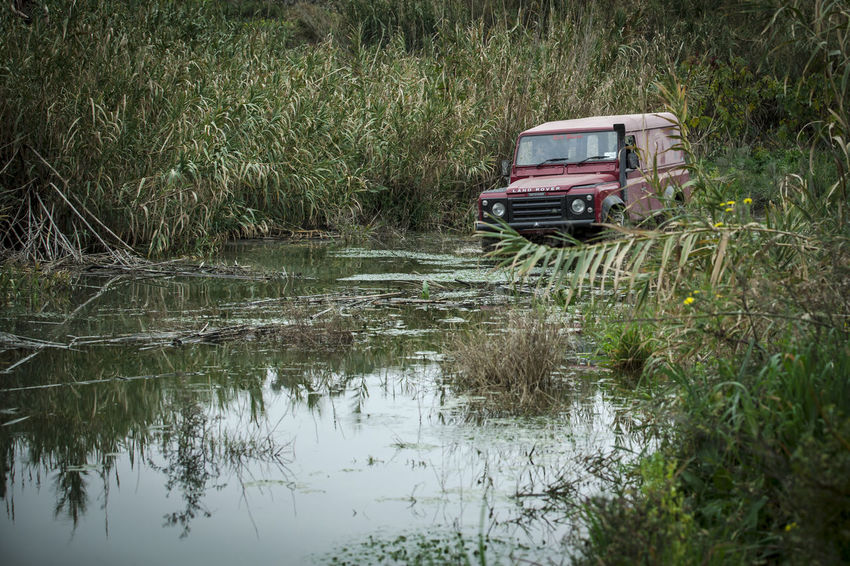 Defender 110 Adventures 110 Expedition Land Rover Off-Road Adventure Day Defender 110 Flood Grass Lake Land Rover Defender Landrover  Landy Nature No People Off-road Vehicle Off-roading Offroad Offroading Outdoors Reflection Transportation Tree Trek Water