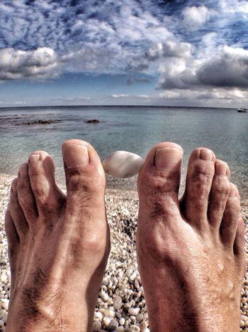 Feet Pies Playa Beach Barefoot Summer Views