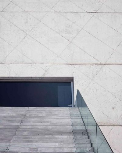 Casa da Música — Casa Musica Portugal Architecture Archi Photography Photographe Simple Design Buildings Building Grey Stairs Clean