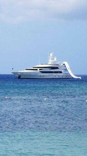 Now thats living Nevis Beach Island St. Kitts Yachts Yacht Ocean Blue Wave