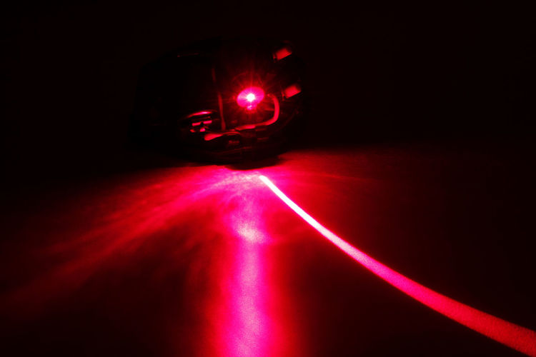 Black Background Blurred Motion Close-up Copy Space Dark Darkroom Electric Light Glowing Illuminated Indoors  Laserpoint Lasershow Light Light - Natural Phenomenon Lighting Equipment Lit Long Exposure Motion Night No People Red Tunnel