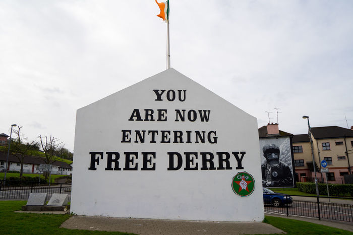 Architecture Building Exterior Built Structure Communication Day Derry Free Freederry Freederrywall House Ireland Irish Londonderry Mural Mural Art Murales No People Northern Ireland Outdoors Sky Text