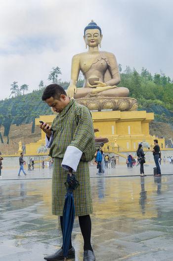 A tourist guide