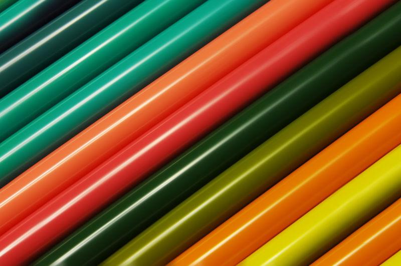 Full frame shot of multi colored felt tip pens