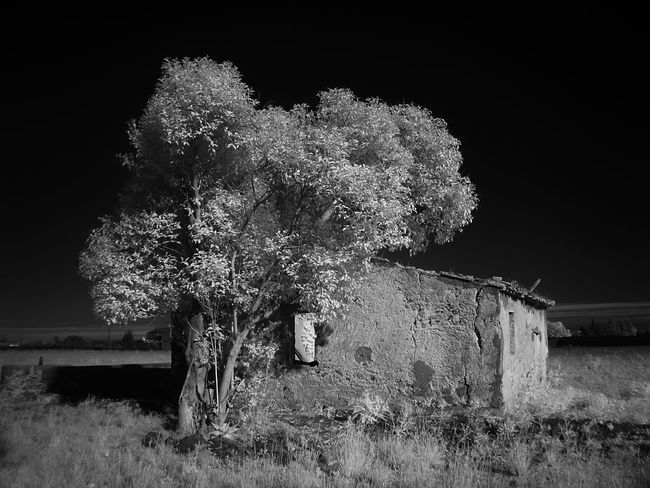 Abandoned Country House Architecture Building Exterior Built Structure Infrared Photo Infrared Photography Nature No People Outdoors Rural Zone