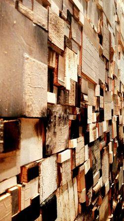Wooden Patterns Gallery Art Piece