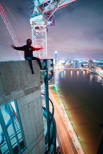 On top of the world 🙏🏽 Illuminated Rooftopping Urban Exploration Urbex Architecture EyeEm Best Shots Break The Mold