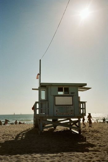 Venice Beach is so nice. I miss this Baywatch view