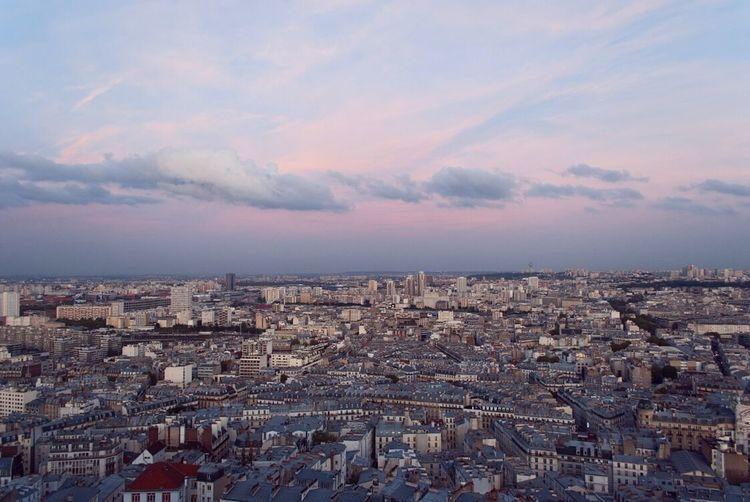 Cityscape City Urban Skyline Travel Destinations Aerial View Sky Paris Sunset Discover  Travel