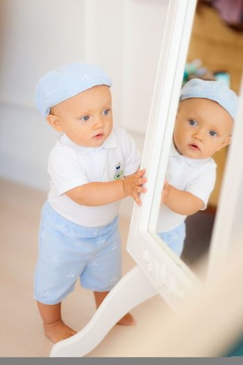 Babyboymodel Baby Cute Real People Childhood Indoors  Home Interior Innocence Happiness Smiling Lifestyles