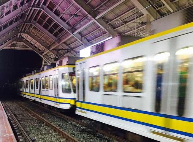 ARC132ACT1 Nuartapp Pattern Color Long Exposure Station Train - Vehicle