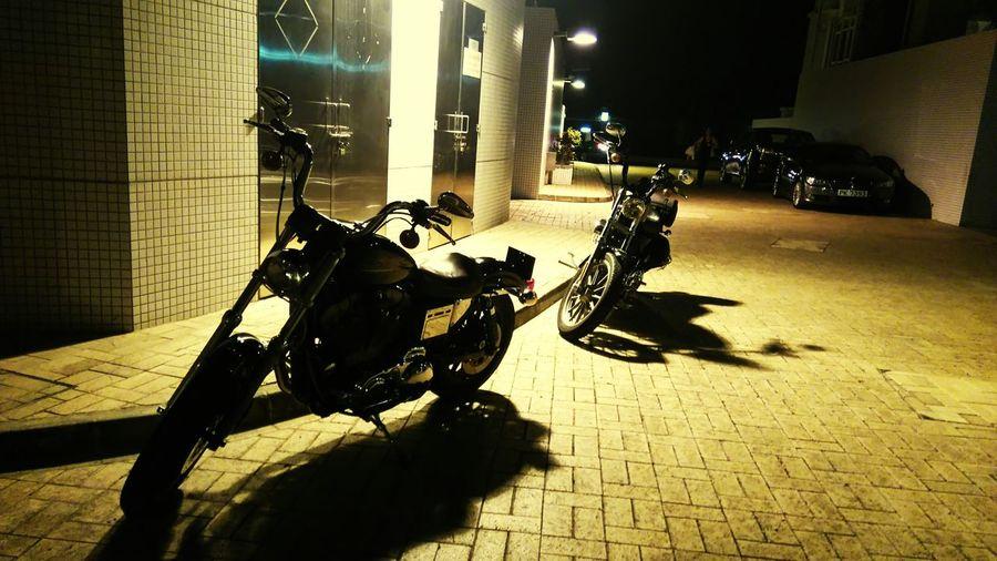 Harleydavidson Bikes HongKong Taking Photos