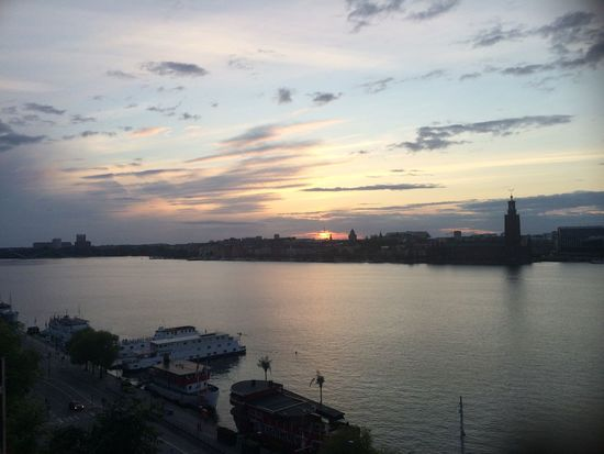 No Edit/no Filter Sunset Baltic Sea Sun Stockholm Sweden